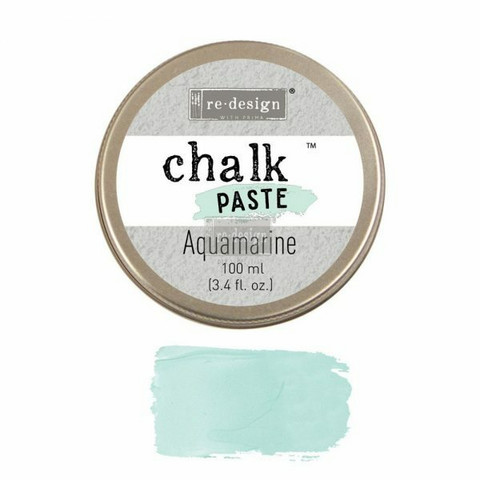 Kalkkitahna - Turkoosi - Aqua Marine - Chalk Paste Prima Re-Design