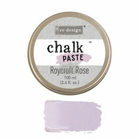 Kalkkitahna - Vaaleanpunainen - Roycroft Rose - Chalk Paste Prima Re-Design