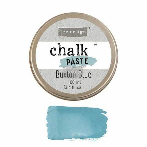 Kalkkitahna - Sininen - Buxton Blue - Chalk Paste Prima Re-Design