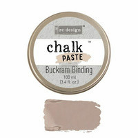 Kalkkitahna - Ruskea - Buckram Binding - Chalk Paste Prima Re-Design