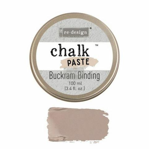 Kalkkitahna - Ruskea - Buckram Binding - Chalk Paste Prima Re-Design