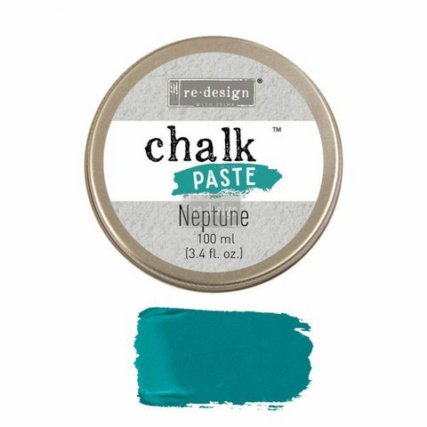 Kalkkitahna - Turkoosi - Neptune - Chalk Paste Prima Re-Design