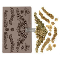 Silikonimuotti - Prima Re-Design - Tillurie Flourishes