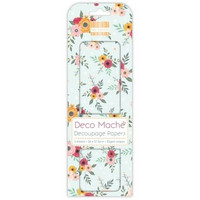 Decoupage-arkki - Floral Spray - Deco Mache
