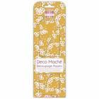 Decoupage-arkki - Mustard Bloom - Deco Mache
