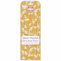 Decoupage-arkki - Mustard Bloom - Deco Mache