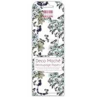 Decoupage-arkki - Flower Vines - Deco Mache
