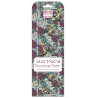 Decoupage-arkki - Blue Hoopoe - Deco Mache