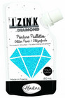 Glittermaali - Sininen - Aladine Izink - Caribean Blue  - 80 ml