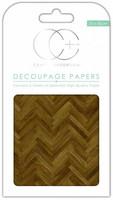 Decoupage-arkki - Parquet Floor - Craft Consortium