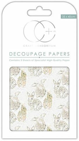 Decoupage-arkki - Hazel - Craft Consortium