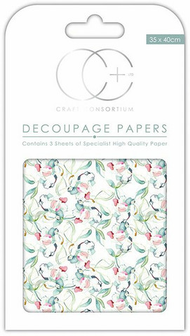Decoupage-arkki - Sun Kissed - Craft Consortium