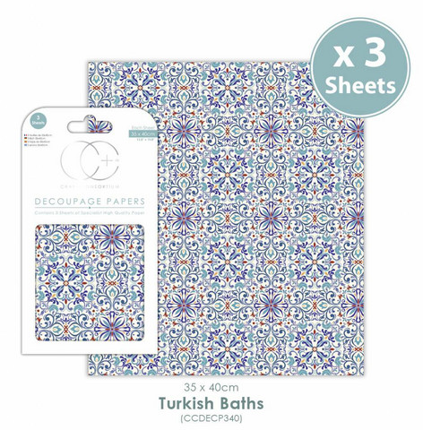 Decoupage-arkki - Turkish Baths - Craft Consortium
