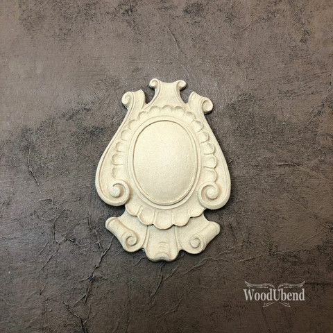Puukoriste - 12 x 9 cm - WoodUBend 1711