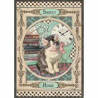 Decoupage-arkki - Sweet Home Cat