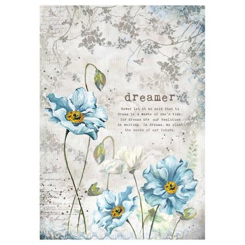 Decoupage-arkki - Dreamer - A4