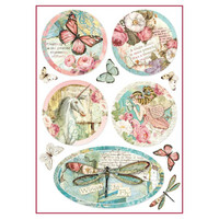 Decoupage-arkki - Wonderland Fantasy Decorations