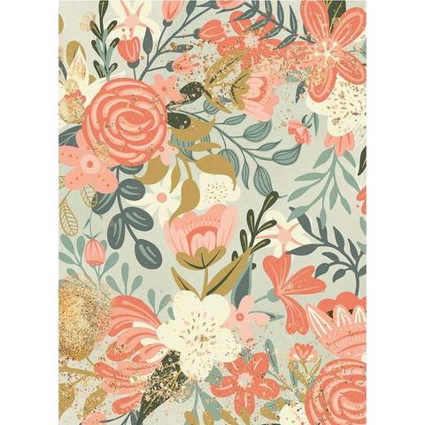 Decoupage-arkki - Flower Tapesty  - A4