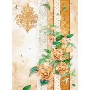 Decoupage-arkki - Flowers For You Oche - A4