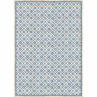 Decoupage-arkki - Texture with Blue Flowers