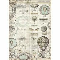 Decoupage-arkki - A3 - Voyages Fantastiques Balloon