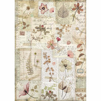 Decoupage-arkki - Pressed Flowers