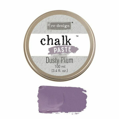 Kalkkitahna - Violetti - Dusty Plum - Chalk Paste Prima Re-Design