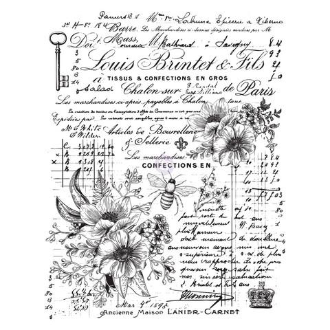 Siirtokuva - Lovely Ledger - 60 x 78 cm - Prima Redesign