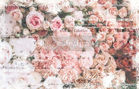 Decoupage-arkki - Angelic Rose Garden - Prima Redesign Decor Decoupage Paper