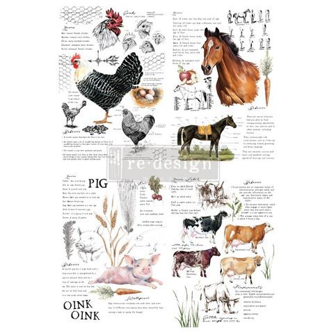 Siirtokuva -  Farm Life - 60 x 88 cm - Prima Redesign