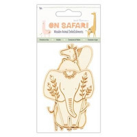 Vanerikoriste - Safari Wooden Animal