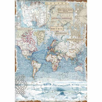 Decoupage-arkki - Antartic Exploration - A3
