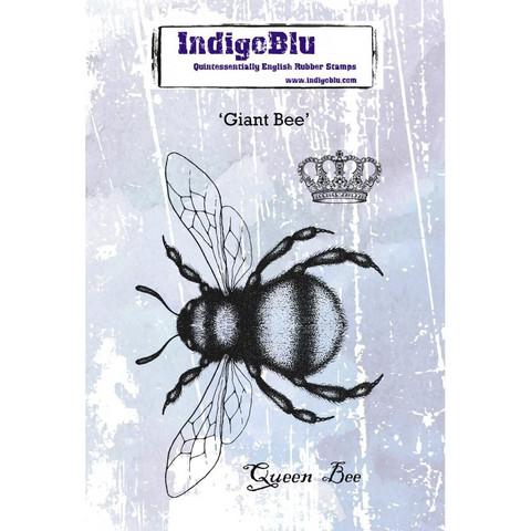 Leimasin - Giant Bee - 10 x 14 cm