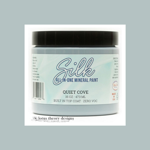Silk All-In-One Paint - Poukamanharmaa - Quiet cove -  473 ml