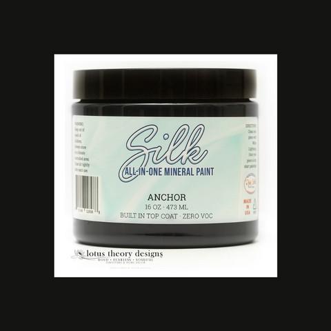 Silk All-In-One Paint - Ankkurinmusta - Anchor - 473 ml