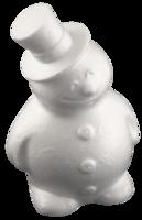 Styroksilumiukko - Koristeltava - 17 cm