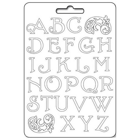 Muotti - A4 - Alphabet