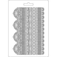 Tekstuurimuotti - 21 x 15 cm - Laces
