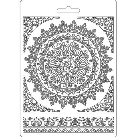 Tekstuurimuotti - 21 x 15 cm - Round Lace