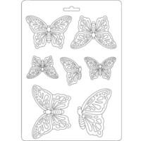 Tekstuurimuotti - 21 x 15 cm - Butterflies