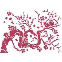 Sabluuna - Bird On Branch - 20 x 15 cm