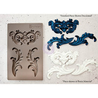 Silikonimuotti - 20 x 13 cm - Everly Flourish - Prima Re-Design