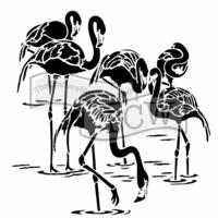 Sabluuna - Flamingot - 30 x 30 cm