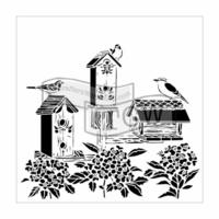 Sabluuna - Linnut - 30 x 30 cm