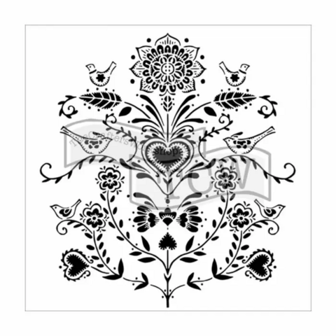 Sabluuna  - 30 x 30 cm - Scandi Flowers