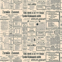 Lahjapaperi - Sanomalehti - alk. 1 metri