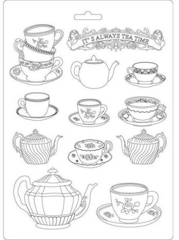 Muotti - A4 - Tea Time