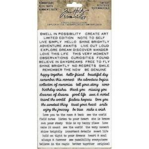 Siirtokuva-arkit 2 kpl - 12 x 19 cm - Tiny Text