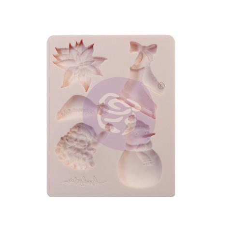 Silikonimuotti - 8x11 cm - Sugar Cookie Christmas - Prima Re-Design
