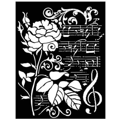 Sabluuna - Rose & Music - 20 x 25 cm